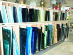 Sheet glass for hobby or professional use, a wide variety of colors and textures
